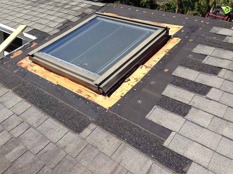 Before / Old Skylight